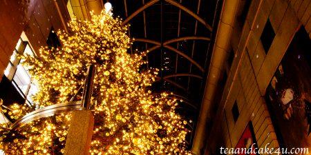 福岡 天神・キャナルシティ博多のクリスマスイルミネーション
