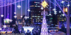 福岡 博多駅・キャナルシティ博多・天神のクリスマスイルミネーション